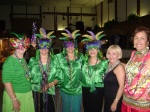L to R Maria Finnerty, Nancy Rozon, Julieta Greene, Isa Bryson, Alicia Abbate and Lucy Santa