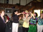 Hat Dance Contest: From left Karen Diamond, Cecilia Pulido, Linda ManzanaresNancy Rozon and Luz Londoño