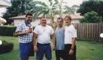 L to R: Herman Santa, Tony Ortiz, Willie González and James Comander