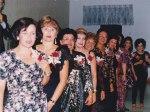 L to R: Lucy Santa, Lilian Bohórquez, Annie Del Rosario, Gladys Vélez, Noemí López, Marialuisa Carrión, Cecilia Vignier, Kathy Basile-González, Isa Bryson and Angela Hurley