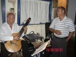 Guitarist Frankie Holiday and Singer José Ramírez
