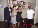 L to R: Juan Piñeiro, Linda Manzanares, Mireya Kaiser, Charlie Rodriguez and Luis Rosa.