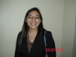 Vanessa Guarnizo, scholarship winner 2013