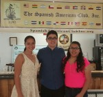 From Left: Ariana M. Ramos, Nicholas Gomez and Alexia Cepeda.